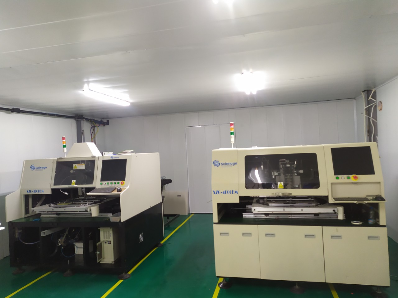 Transmission assembly assembly line