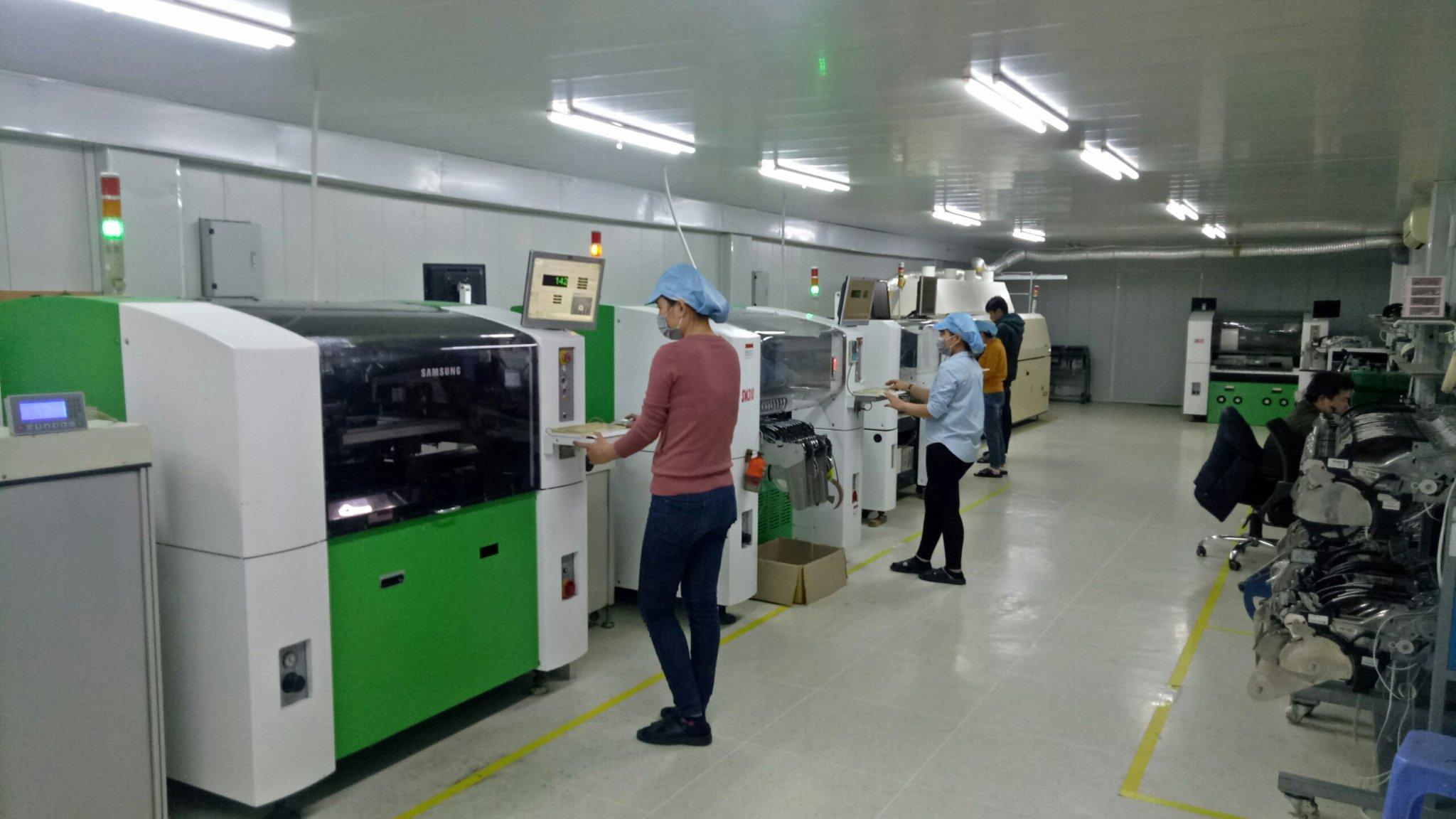 SMT assembly line